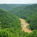 Leatherwood Ford overlook  BSF