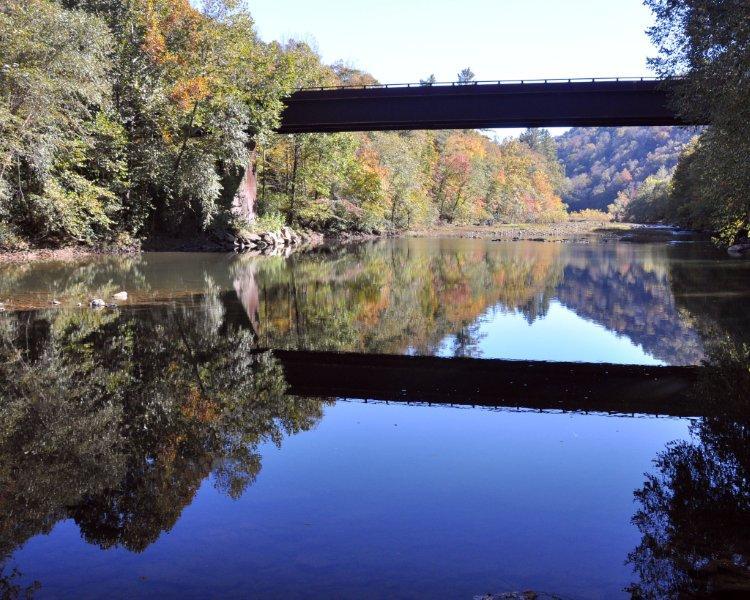 Leatherwood ford bridge